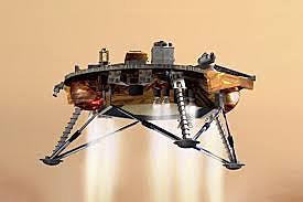 American space orbiter Mariner 9 surveys Mars