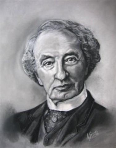 John A. Macdonald is born.