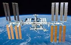 International Space Station is launched into space