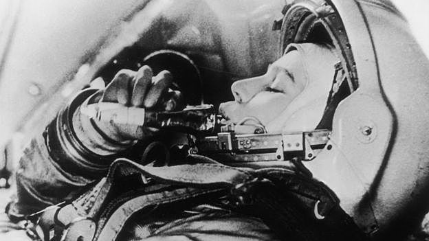 The first woman in space