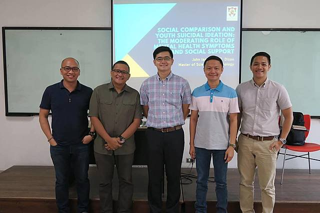 LR Vice President defended his Master's Thesis