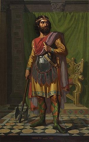 El rei visigot Recared, es converteix al cristianisme