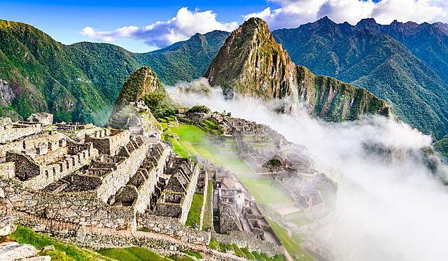 Pachacuti Inca founds Machu Picchu in the High Andes.