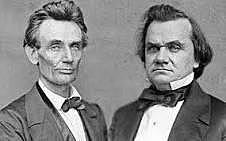Abraham Lincoln and Stephan Douglas Debates