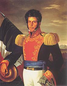 Vicente Guerrero pacta con Iturbide