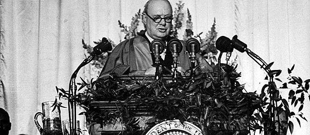 Начало холодной войны (Речь в Фултоне)