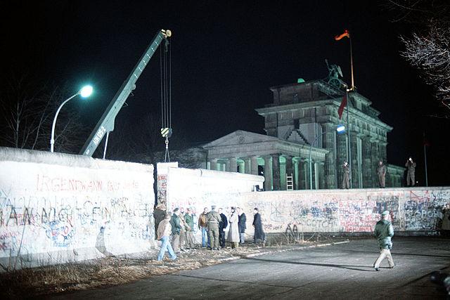 Падение Берлинской стены. Объединение ФРГ и ГДР