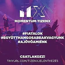 Momentum TizenX-az ifjúsági tagozat