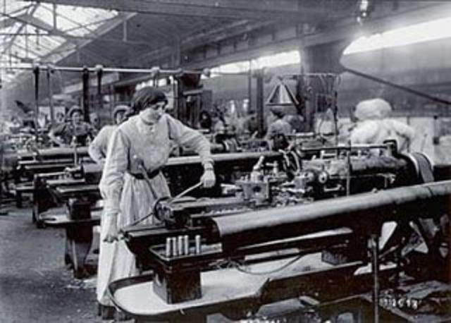 Desarrollo de la revolución  industrial