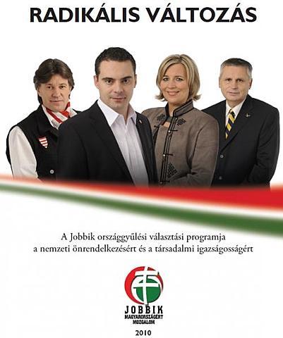 Jobbik 2010-es programja,Radikális Változás