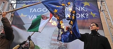 Eu-ellenes tüntetés
