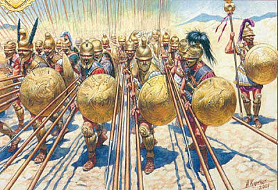Bàrbars penetran Hispania