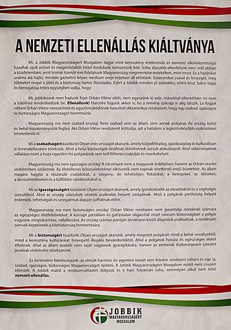 Nemzeti Ellenállás Kiáltványa