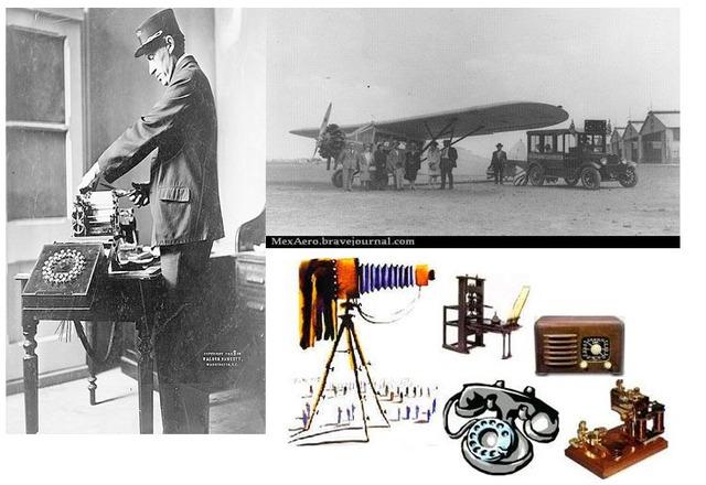 Nace el telégrafo-correo aereo-audiovisuales