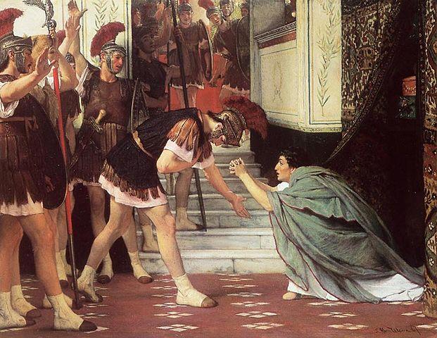 Claudius becomes emperor