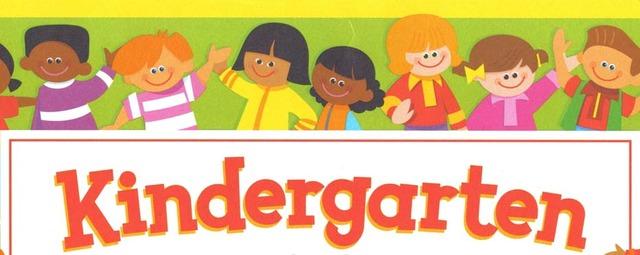 My first day in kindergraten!