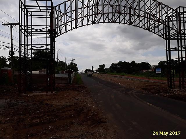 Portico en Construccion