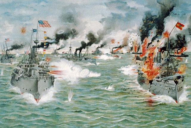 Battle at Manila Bay