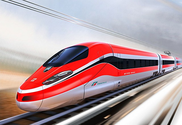 Het spoor en de hogesnelheidslijn