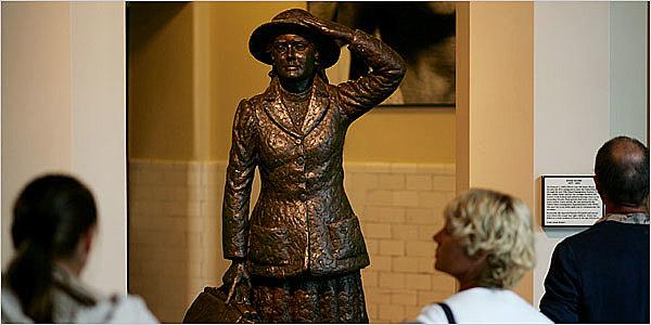 First Person Goes Through Ellis Island