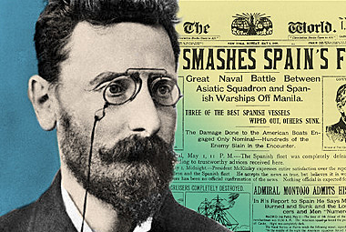The World was Purchased by Joseph Pulitzer