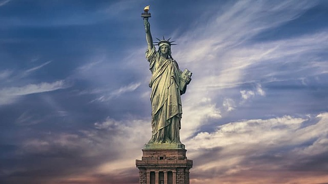 Opening of the Statue of Liberty