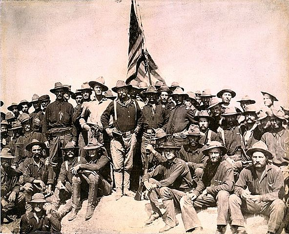 Roosevelt wins the battle of San Juan hill