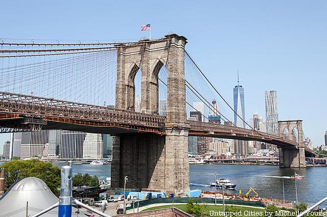 Brooklyn bridge built