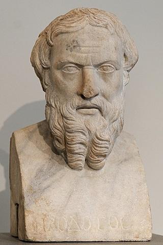 Greece: Herodotus writes his histories.