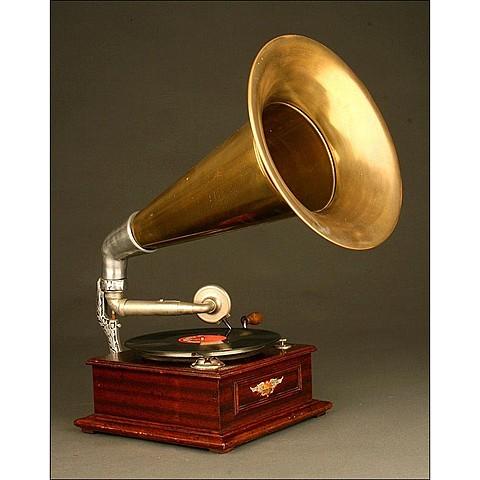 El gramófono. sistema de sonido que reemplazo al de edison