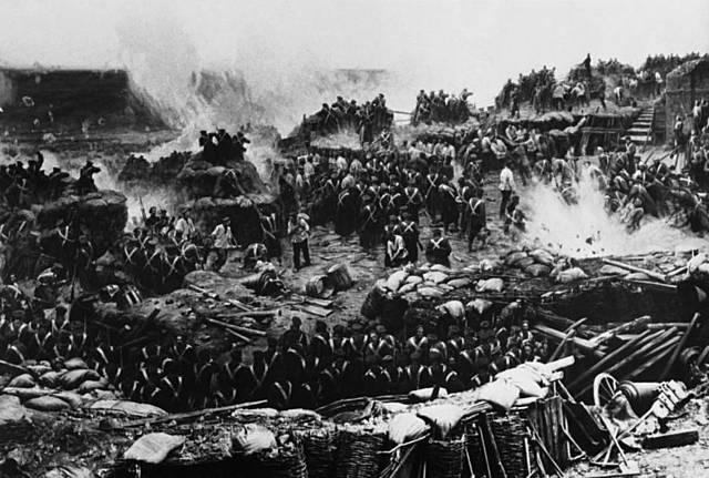 First Photographed War
