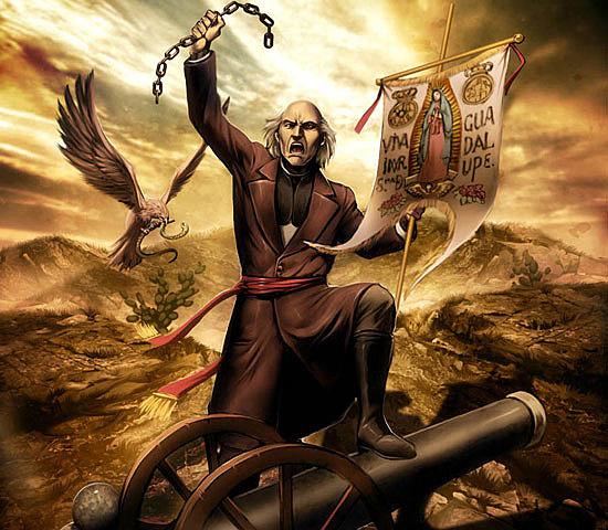 Miguel Hidalgo da el Grito de Dolores