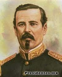 Felix Zuloaga es Presidente (Conservador) de Mexico