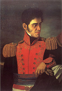 Asciende por primera vez a la presidencia, Antonio López de Santa Anna