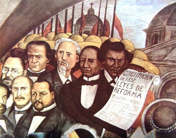 Juarez promulga la Ley de Nacionalización