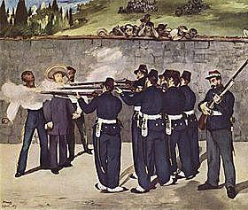 Maximiliano es fusilado