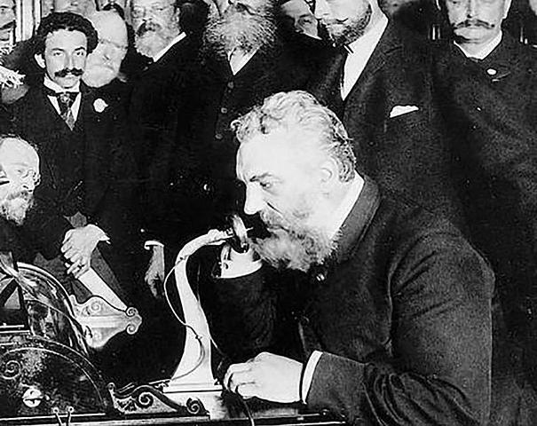 El teléfono de Alexander Graham Bell