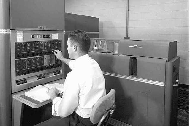 La primera computadora a escala industrial.