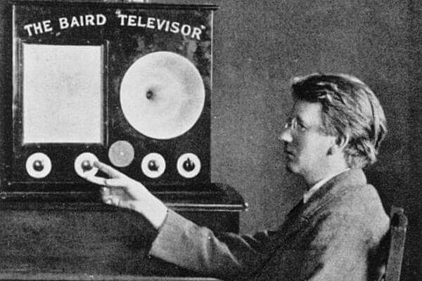 Televisor Baird.