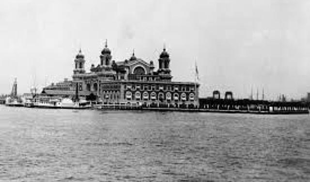 Ellis Island opening