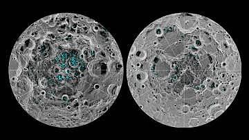 Misión Epoxi, Moléculas de agua en la Luna