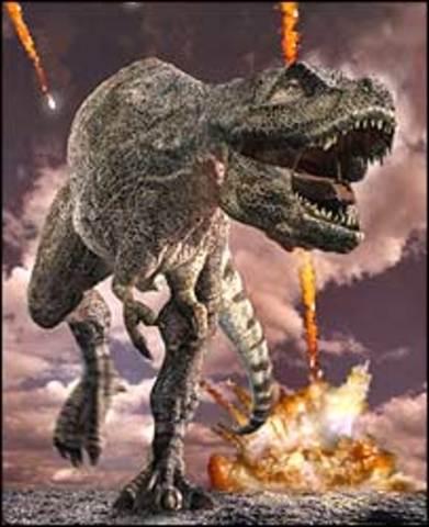 (65 million years ago) End Cretaceous