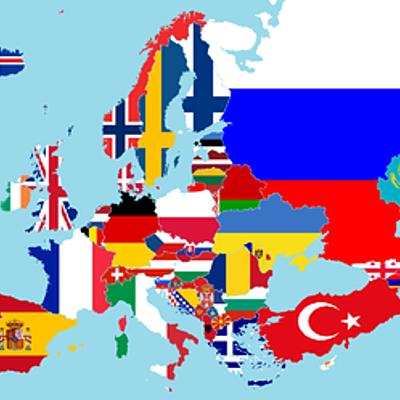 Europa 1945 - heden timeline