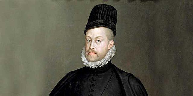 Conversión a rey de Felipe II