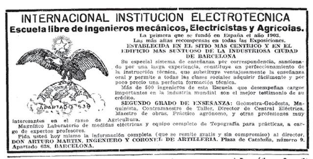 España - Escuelas Libres de Ingenieros