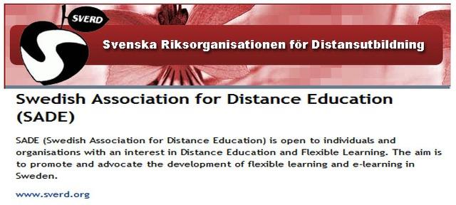 Suecia  Swedish Association for Distance Education