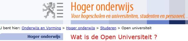 Belgica - Studiecentrum Open Hoger Onderwijs