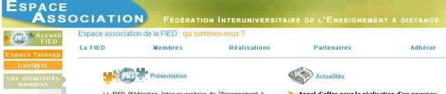 Francia - Fedération Interuniversitaire de l=Enseignement à Distance