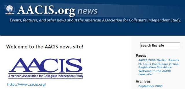 U.S.A.- AACIS