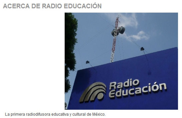 Mexico - radiodifusora educativa y cultural